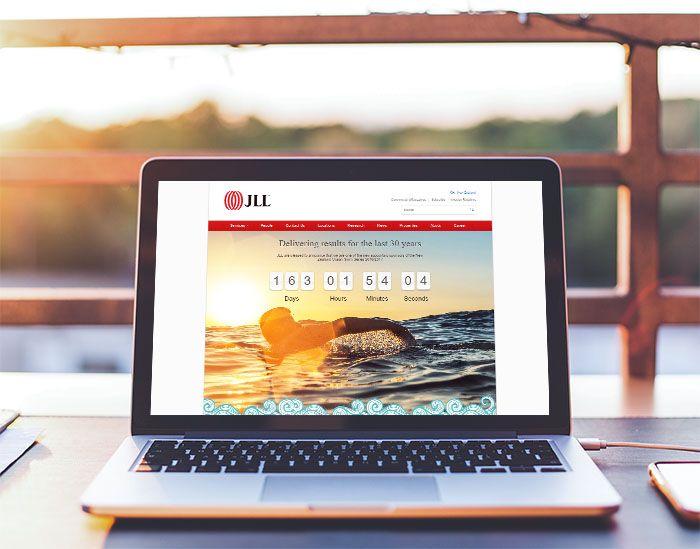 Commercial real estate website design