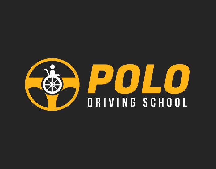 Polo Driving School Logo Design