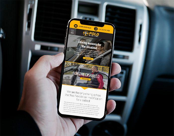 Polo Driving School Wordpress Website Design